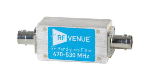 Band-pass Filter 470-530 MHz