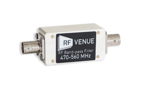 Band-pass Filter 470-560 MHz
