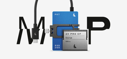 Match Pack for Blackmagic Design Pocket Cinema Camera 6K (1 TB SSD2go PKT | 512 GB CFast)