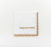 Gold Rush Personalized Handkerchief