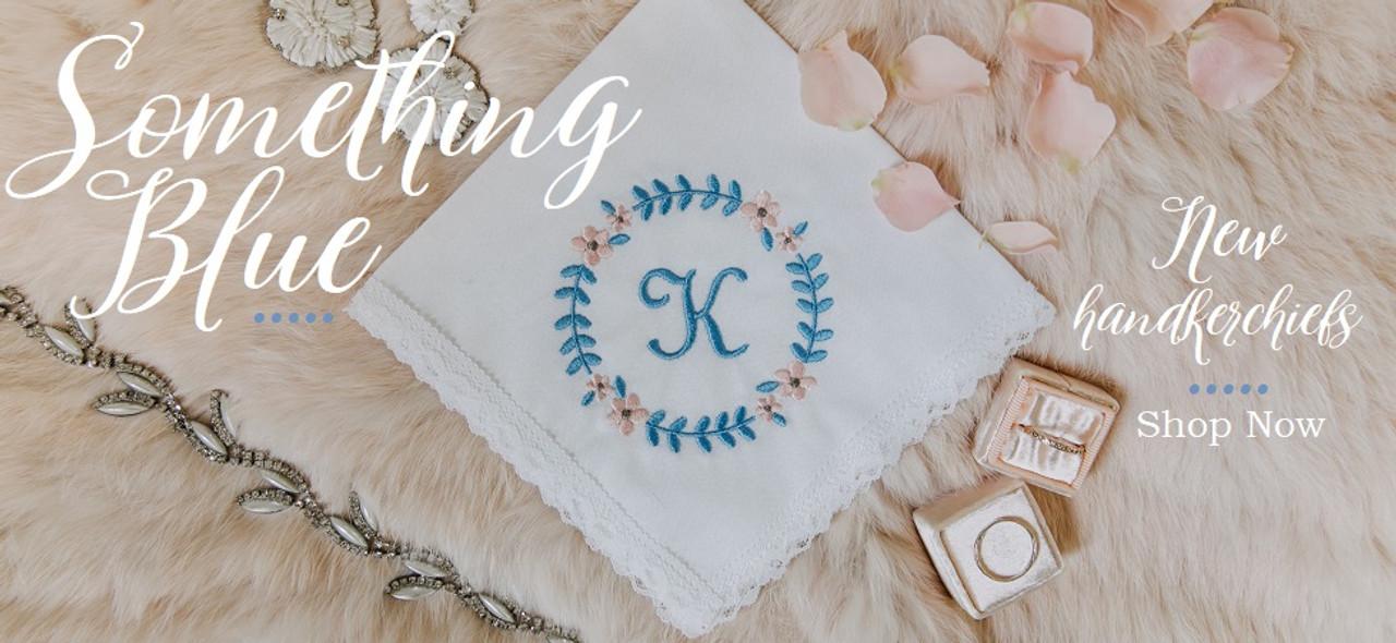Something Blue Handkerchiefs