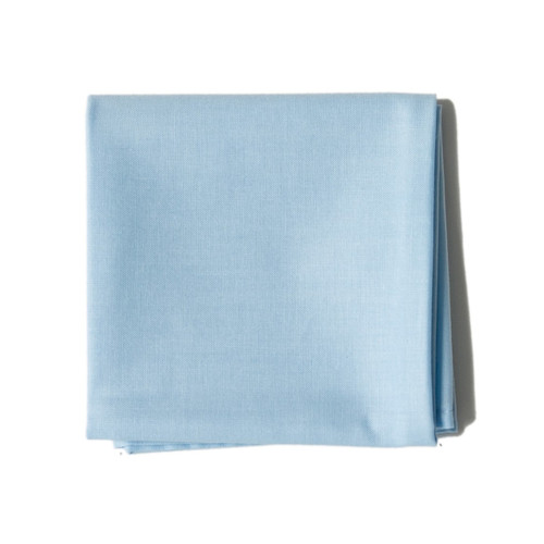 powder blue men's handkerchief