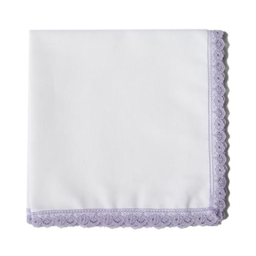 Lavender Lace handkerchief