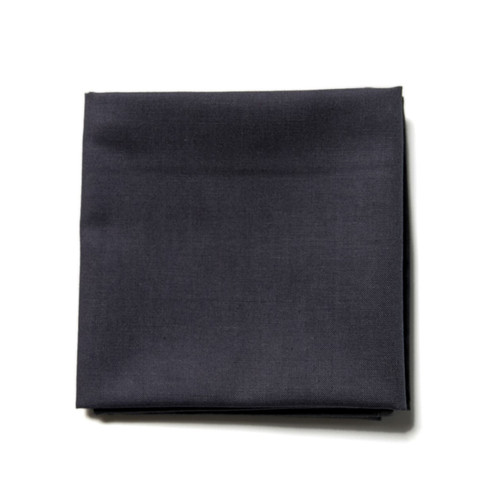 charcoal grey men's handkerchief