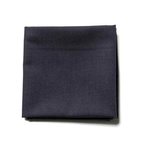 Charcoal grey men's handkerchief