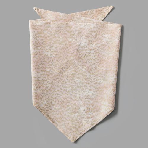 Gold Line & Blush Pet-kerchief Bandana