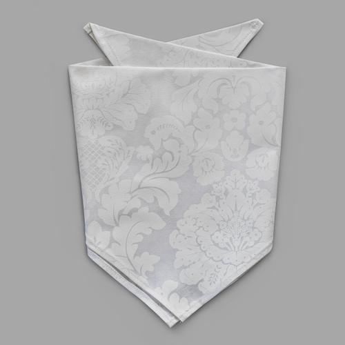 White Damask Pet-kerchief Bandana