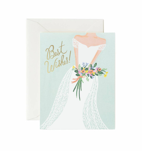 Rifle Paper Best Wishes Card