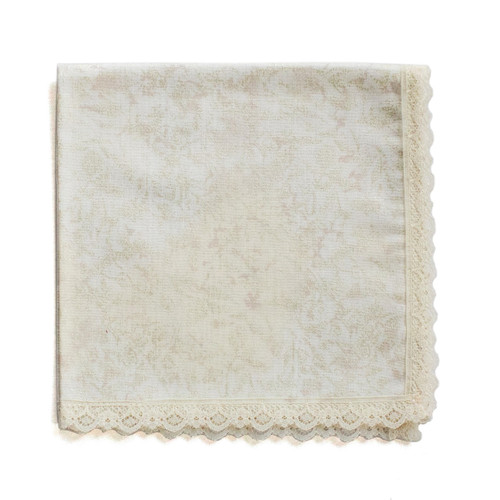 Ivory Frost handkerchief