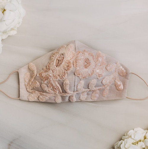 Bridal Mother of the Bride Face Mask