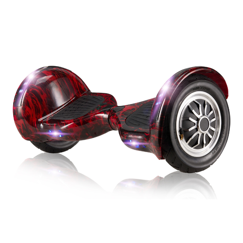 Hooverboard Off Road Red Flame