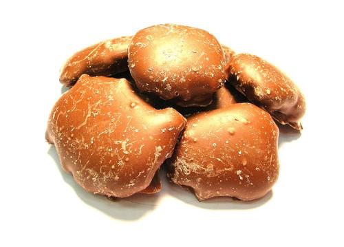 Choc. Pecan Caramel Clusters