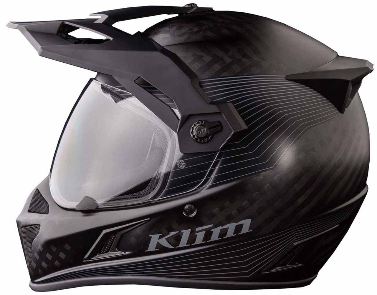 KLIM Krios Karbon Adventure Helmet with SENA Bluetooth Kit