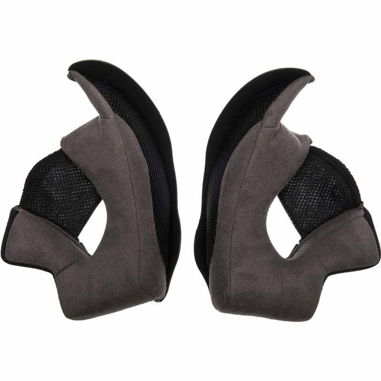 Grey Bell Qualifier Helmet Replacement Cheek Pads