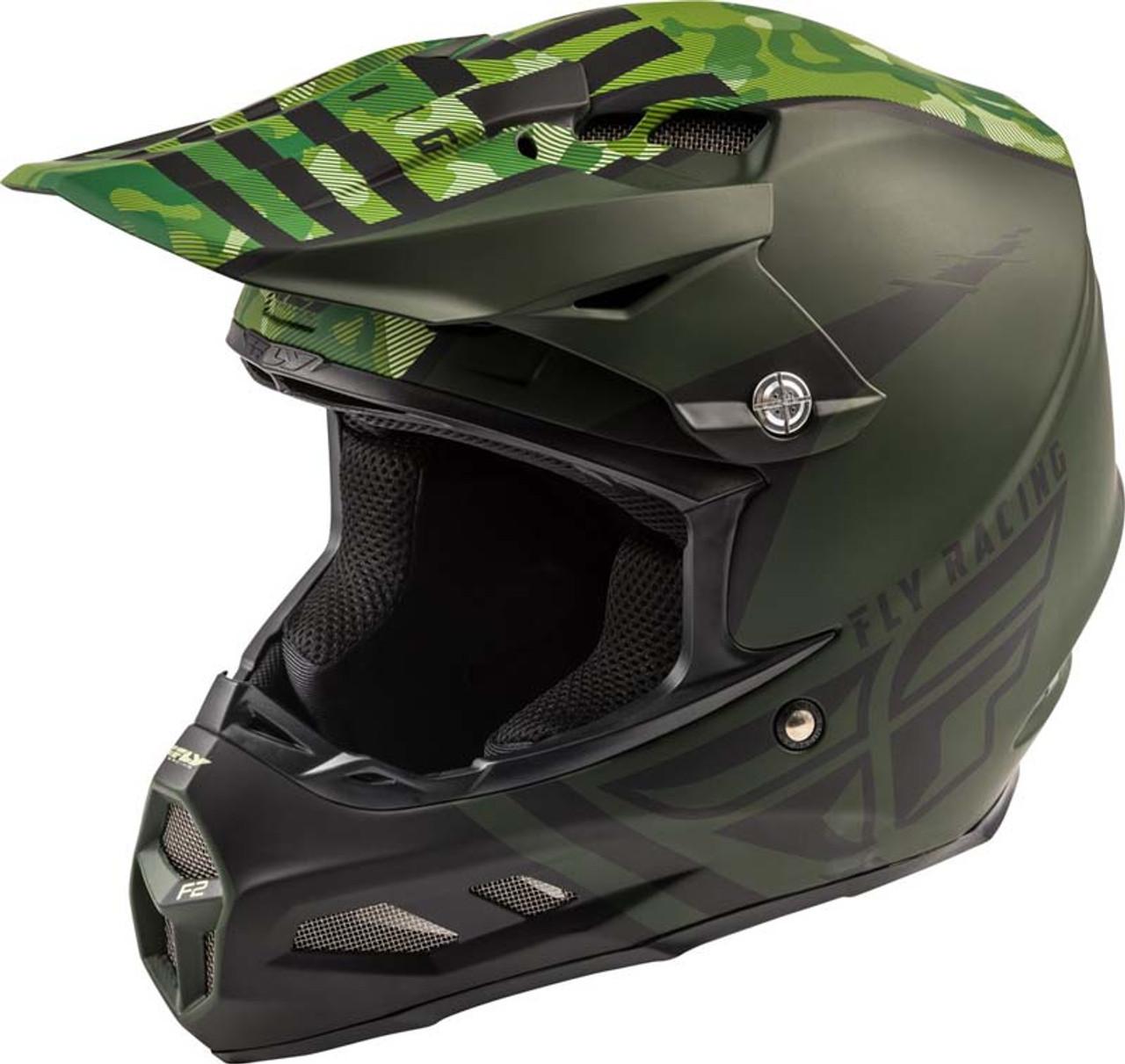 Fly Racing Visor for F2 Carbon and Formula Helmet  White