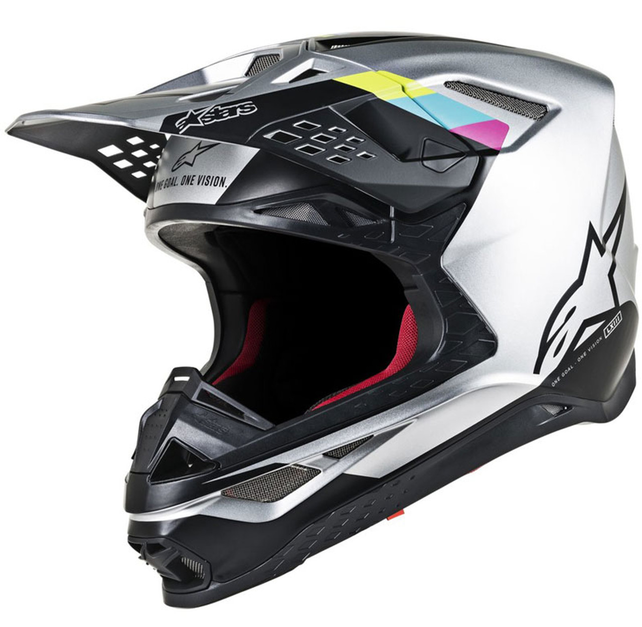 Alpinestars Supertech M10//M8 Crown Pad Off-Road Motorcycle Helmet Accessories Black//Small