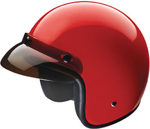 75d3ff62 HCI 10 Open Face Helmet Red