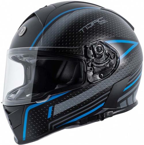 4fdf52eb Torc T14 Mako Flag Helmet Flat Black | XtremeHelmets.com