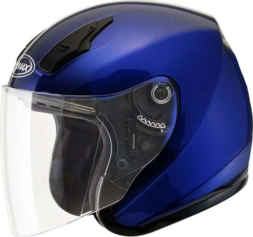 GMAX GM 32 Solid Motorcycle Helmet w//Sun Shield