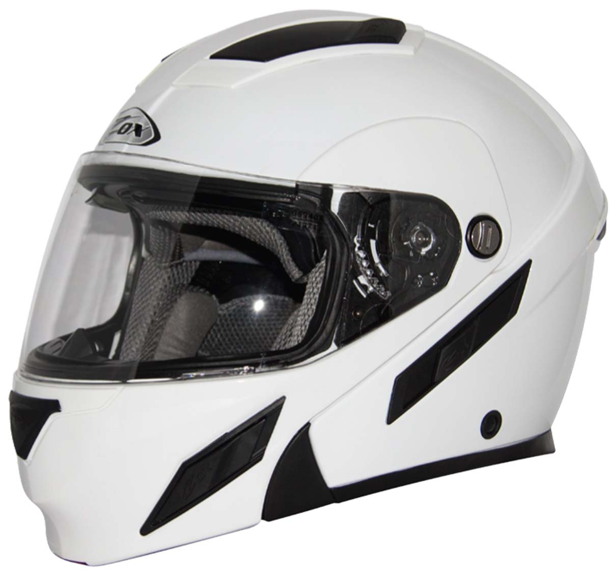 4fa49a84 Zox Brigade SVS Helmet White | XtremeHelmets.com