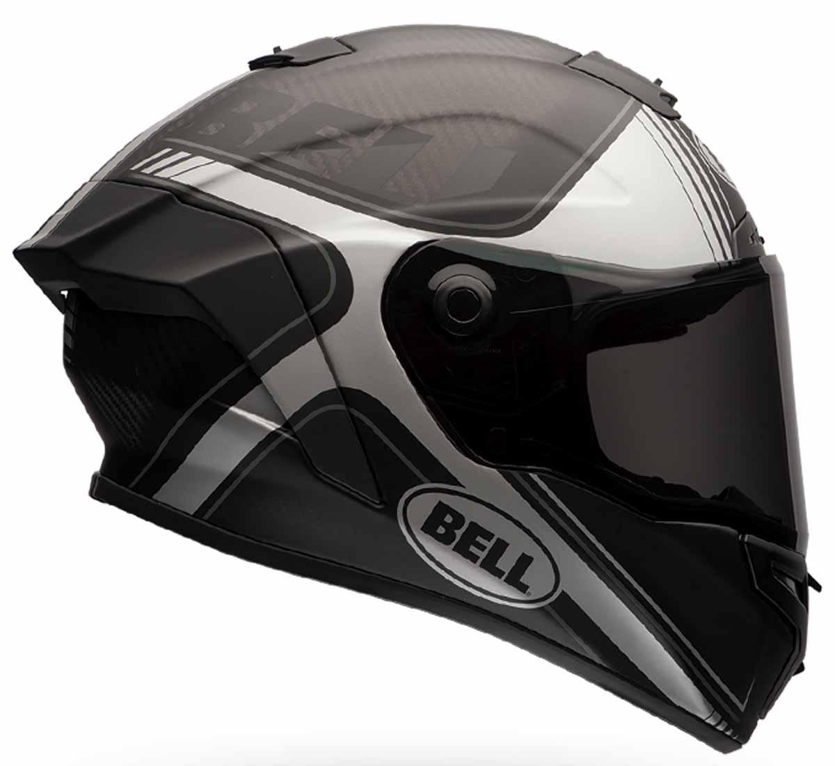 7098b8be Bell Race Star Tracer Helmet Black/Grey. Previous
