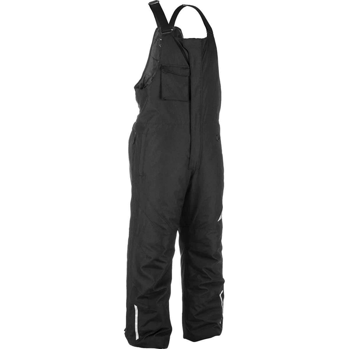 Fly Racing Aurora Bib//Pants Black Weatherproof Waterproof Windproof Youth XS-4XL