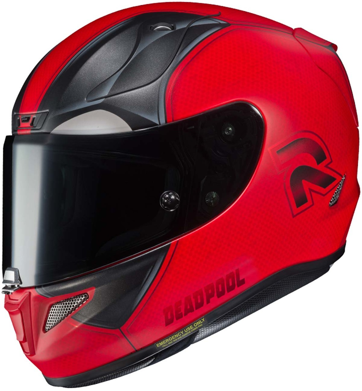 Hjc Rpha 11 >> Hjc Rpha 11 Pro Deadpool 2 Helmet Mc 1sf Xtremehelmets Com