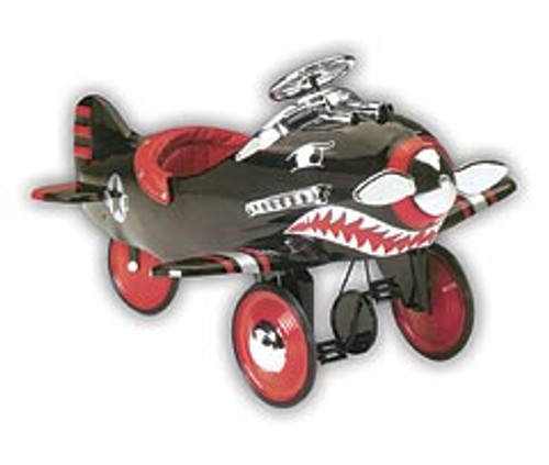 Black Shark Attack Pedal Plane