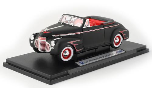 1/18-Scale Diecast 1941 Chevrolet Special Satin Retro-Rod - Black