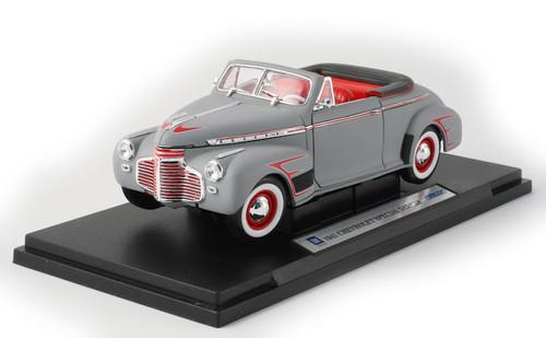 1/18-Scale Diecast 1941 Chevrolet Special Satin Retro-Rod - Flat Gray