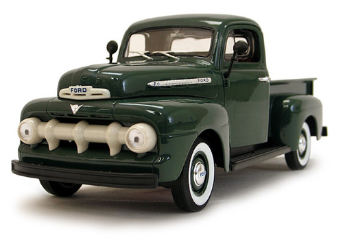 1/18-Scale Diecast 1951 Ford F1 Pickup - Green