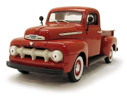 1/18-Scale Diecast 1951 Ford F1 Pickup - Red