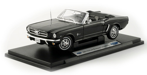 1/18-Scale Diecast 1964 Ford Mustang Convertible - Black
