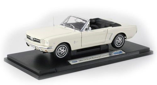 1/18-Scale Diecast 1964 Ford Mustang Convertible - Cream