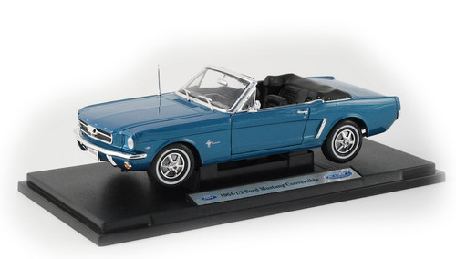 1/18-Scale Diecast 1964 Ford Mustang Convertible - Teal Blue