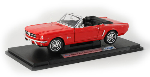 1/18-Scale Diecast 1964 Ford Mustang Convertible - Red