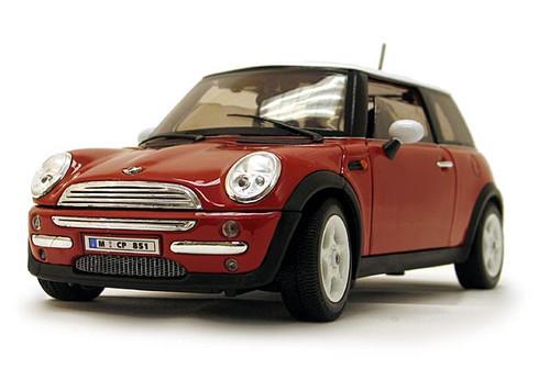 1/18-Scale Diecast Mini Cooper - Red