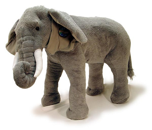 "Standing Elephant with Sound (36"")"