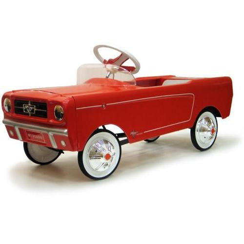 1965 Red Mustang Pedal Car