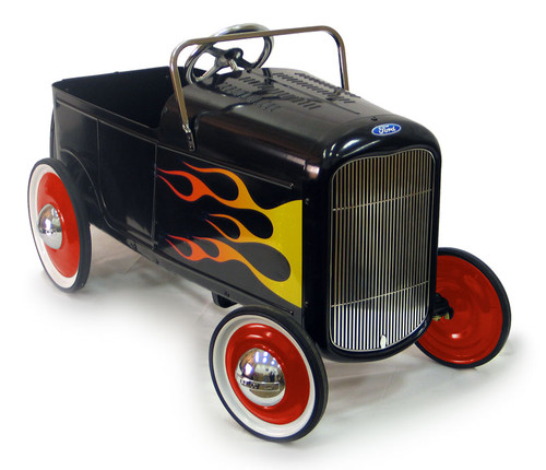1932 Flamed Roadster Pedal Car