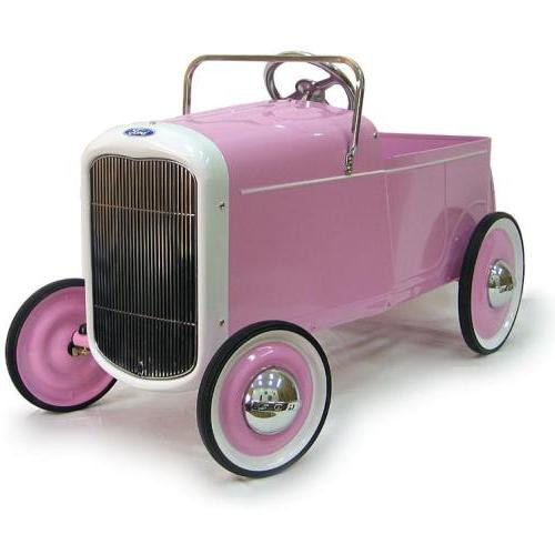 1932 Pink Roadster Pedal Car