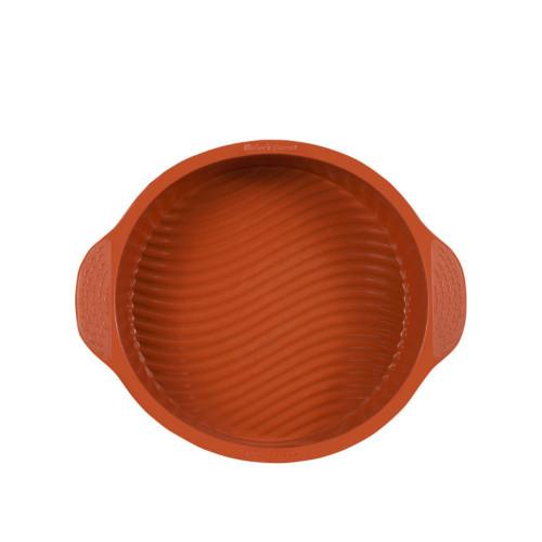 "Baker's Secret 1064940 Flexible Silicone 9"" Round Cake Pan"