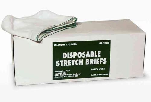 Disposable Mesh Briefs Underwear X-LARGE Dispenser Box/50