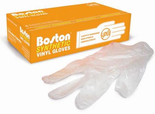 Boston Non-Medical Vinyl Gloves: 1,000 LARGE