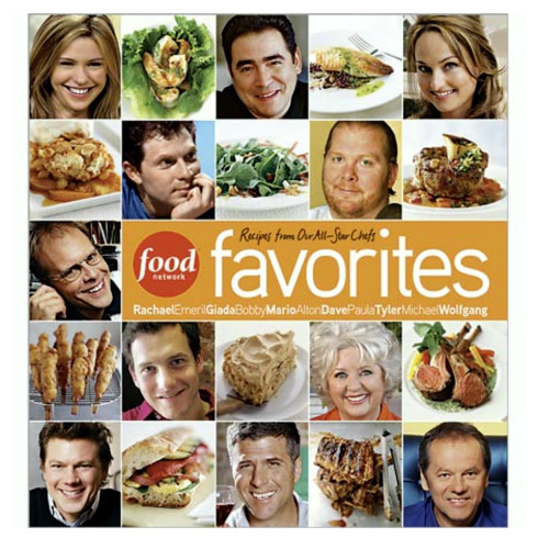 Food Network Favorites: Recipes from Our All-Star Chefs Cookbook