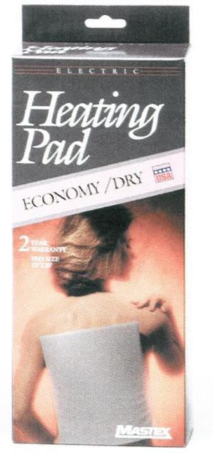 "Economy Dry Electric Heating Pad 12""x15"""
