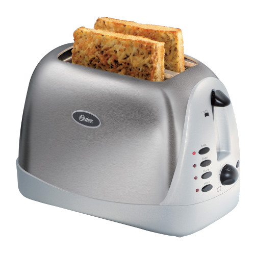 Oster 6329 Inspire 2-Slice Toaster - Brushed Stainless
