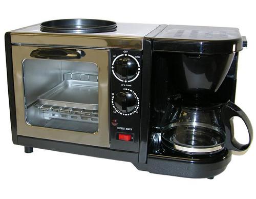 3-in-1 Stainless Steel Breakfast Maker
