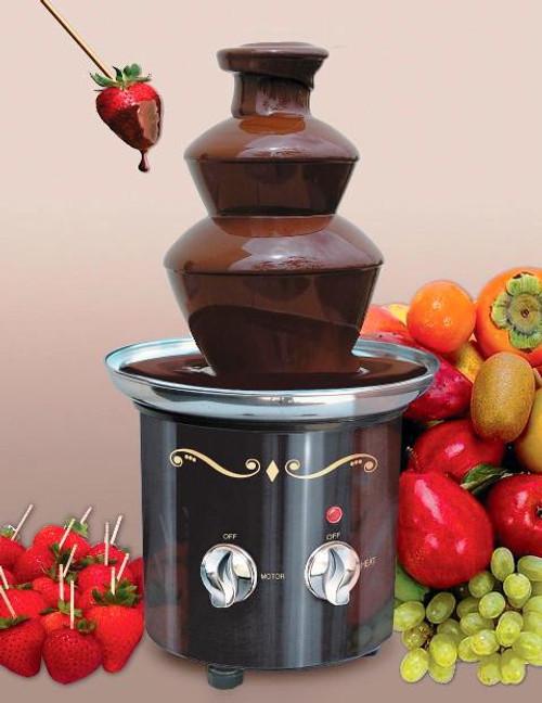 Chocolate Fondue Fountain - Black CFF-600