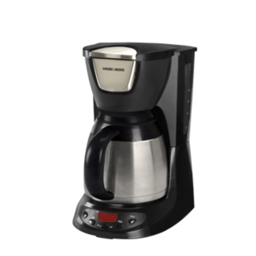 Black & Decker DE790B 8-Cup Thermal Carafe Coffee Maker